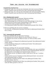 Tipps für die Stammbaumanalyse SII