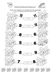 Welche Geschenke packt der Nikolaus ein?