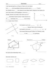 Geometrische Merktexte Klasse 5 Gym RLP