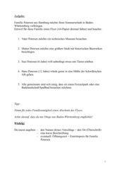 Flyer zu Freizeitaktivitäten in Baden-Württemberg