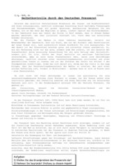 Deutscher Presserat - Aufgaben, Funktionen, Probleme