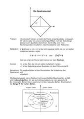 Einführung Quadratwurzel