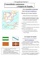 Comunidades Autónomas y lenguas de España