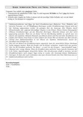 Lernerfolgskontrolle Infektionskrankheiten