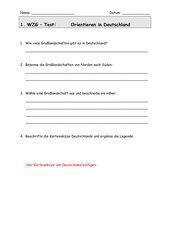 Test: Orientieren in Deutschland