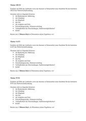 Gruppenarbeit Institutionen der Weltwirtschaftsordnung