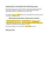 Inhaltsmarkierer bei laufender PowerPoint-Präsentation