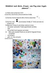 Bilddiktat nach Miró