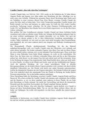 Arbeitstexte zu Camille Claudel und August Rodin