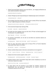 Literatur-Quiz