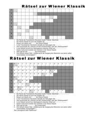 Rätsel zur Wiener Klassik
