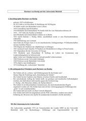 Überblick: Hartmut v.Hentig und die Bielefelder Laborschule