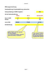 Blattschutz mit für Schüler ausgeblendeter Lösungsformel in Excel