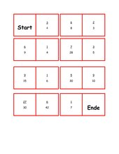 Domino zum Erweitern von Brüchen