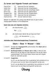 Neutralisation (Einführung und Übung Gymn Klasse 9)