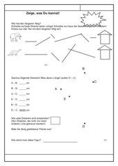 4teachers lzk messen von strecken 2 klasse. Black Bedroom Furniture Sets. Home Design Ideas