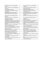 Tandembogen zur Übung von Fragen
