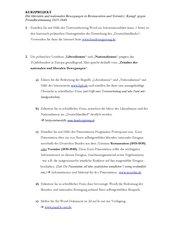 Liberale und nationale Bewegungen in Restauration und Vormärz