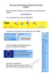 Internetsuche zu Europa