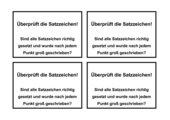 Textüberarbeitung - Erzählung