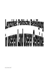 Lernzirkel Gemeinde RLP