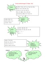 Terme und Gleichungen