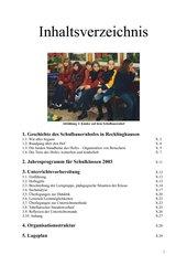 Unterrichtsentwurf für einen Schulbauernhofaufenthalt