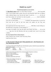 Wiederholung und Test Jona und Rut