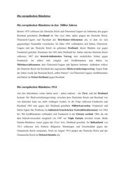 Schüler-Infotexte: Die europäischen Bündnisse (1890 und 1914)