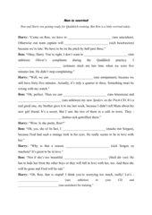No reflexive pronouns with these verbs_Dialogue Harry/Ron