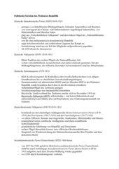 Politische Parteien der Weimarer Republik