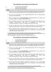 Bewertungsbogen Interpretation