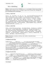 Arbeitsblatt S-Schreibung