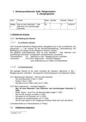 Gleichnis vom barmherzigen Samariter (5.Klasse HS Bayern)
