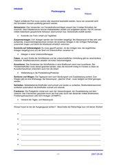 Infoblatt - Postausgang