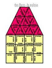 Puzzle : la maison - das Haus