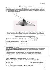 Das Pyramidenproblem