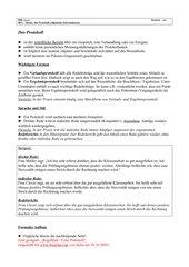 Das Protokoll - Zusammenfassung / Allgemeine Hinweise