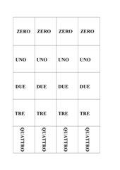 Memo-Spiel / Zuordnungsspiel: Zahlen