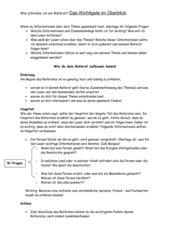 Wie schreibe ich ein Referat?