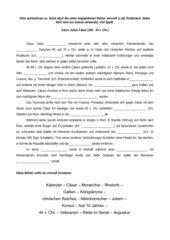 lckentext gaius julius csar - Julius Casar Lebenslauf