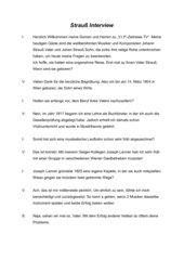Strauß-Interview