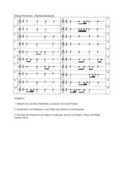 Rhythmus - Übungen - Notenwerte Klasse 5