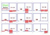 Domino Plusaufgaben gemischte Zehner ohne Übergang