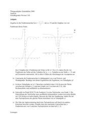 ZA2008 Niedersachsen GN Analysis Übung