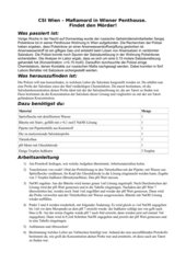 CSI - pH-Wert Messung Titration: SchülerInnen spielen Detektive