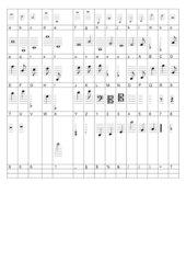 Musikschrift Übersetzung lassus