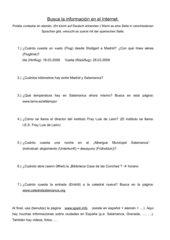 Webquest Salamanca