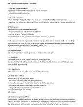 Auszug aus dem Jugendarbeitsschutzgesetz JArbSchG