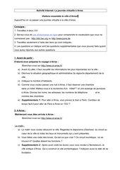 Activité Internet (Découvertes 3 (série verte), L. 4A